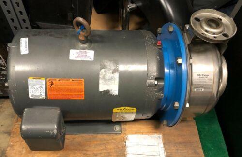 G&L 11SH1N2B0 SSH Centrifugal Pump 230/460 20 HP 3525 RPM Baldor JMM2514T-S