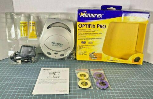 Memorex Optifix Pro Motorized Media CD Disc Cleaning & Repair