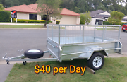 Trailer for rental $40 hire Arundel Gold Coast City Preview