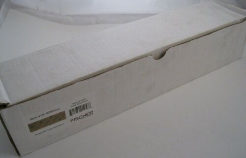"Box of 1000 FISCHER 415 Toilet Seat Bands (1-1/2"" W x 16"" L) - Natural / Kraft"