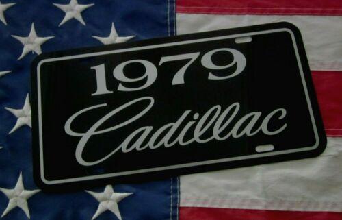 1979 Cadillac license plate tag 79 Caddy Seville Eldorado Coupe DeVille Sedan