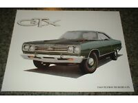 ★★1968 PLYMOUTH GTX CONVERTIBLE MOPAR ART 68 440 426 HEMI★★