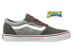 30e2553e1bc4f Vans-Milton-Grigio-Scarpe-Bambino-Ragazzo-Sportive-Sneakers-