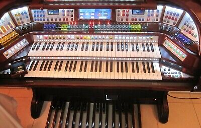 Lowrey STERLING organ: USB / DVD, COLOR TOUCH screen and NICE padded bench