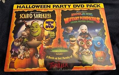 DreamWorks Halloween Double Pack: (Scared Shrekless / Monsters vs Aliens) DVD (Monsters Vs Aliens Halloween Movie)