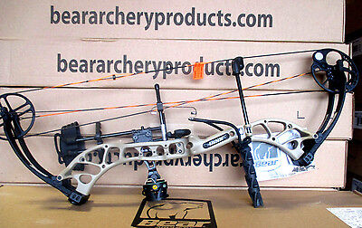 NEW Bear Archery Wild RTH 70# RH Bow Package SAND TAN Hunt Ready LIMITED QTYS!!!