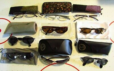 LOT OF 8 NINE WEST SELECT A VISION MAGNIVISION SUNGLASSES READING GLASSES (Magnivision Sunglasses)