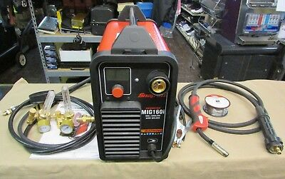Very Nice Snap-on Synergic Inverter Mig160i Mig Welder 160a Gasgasless