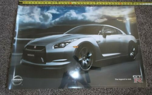Nissan GT-R: The Legend is Real (2007 Poster) 24x36 GTR