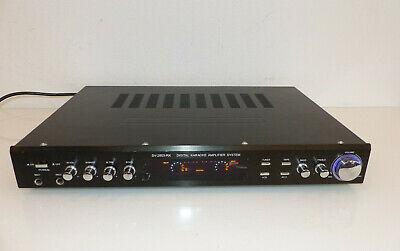 SV-2803-RK Digital Karaoke Amplifier System Verstärker , usado segunda mano  Embacar hacia Spain