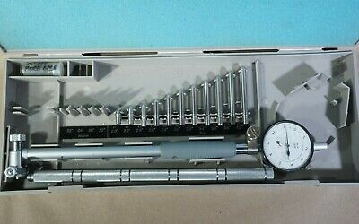 Mitutoyo 511-106 Dial Indicator 2-4 Bore Gage Set 2923-10 Case 2 Extensions