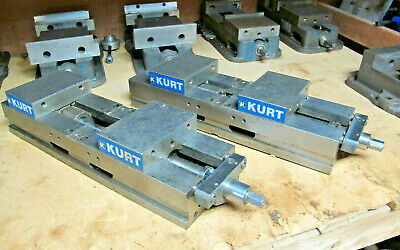 1 Kurt Precision Machine Vise Jaws For Bridgeport Haas Mills Dl 600c Double Lock