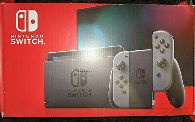 Nintendo Switch 32GB Console System w/ Grey/Gray Joy-Con |BRAND NEW SEALED