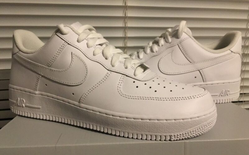 the latest a6efb 915a0 Nike Air Force 1 07  Low Shoes White White 315122-111 Classic AF1