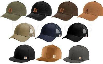 CARHARTT Authentic Odessa Hat, Rugged Professional Mesh or Ashland Flat Brim Cap