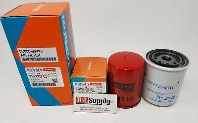 Kubota Filter Maintenance Kit Rtv500 Serial 19025 And Up Top Quality