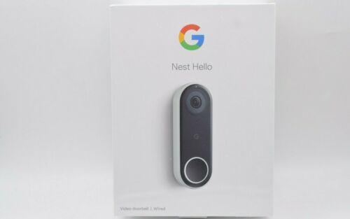 Google Nest Hello Smart Wi-Fi Video Doorbell NC5100US NEW SEALED