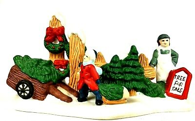 Lemax Tree Lot Trees For Sale Christmas  ()