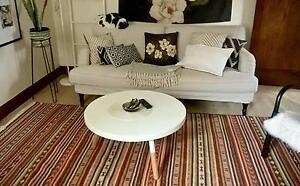 RRP $399 IKEA Kattrup Huge 2x3m Geometric Patterned Wool Rug Preston Darebin Area Preview
