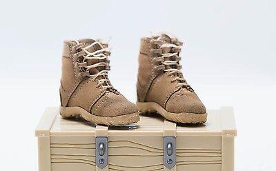 1 6 Dam Combat Girl Series Gemini Zona Female Combat Boots