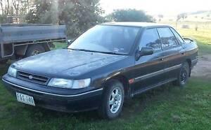 1993 Subaru Liberty Sedan Goorambat Benalla Area Preview
