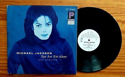 Michael Jackson You Are Not Alone Vinyl Blue Cover. No Promo. segunda mano  Cruze de Sardina