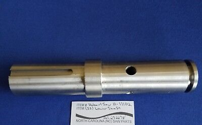 Lower Shaft Ss For Hobart Saw 5700 5701 5801 6614 6801 Ref. 292278