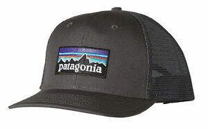 fb53e238f2f Patagonia P6 Logo Adjustable Trucker Hat - Forge Grey for sale ...
