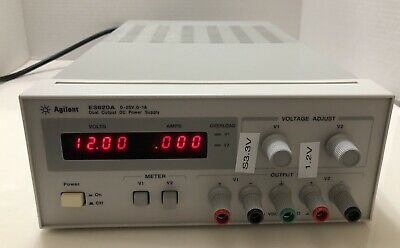 Hp Agilent E3620a Dual Ch Dc Power Supply 0-25a 0-1a Tested New Cosmetic Deal