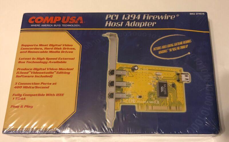 PCI 1395 Firewire Host Adapter w/ 3 Ports