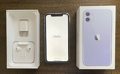 Apple iPhone 11 - 64GB - Purple (Unlocked) A2111 (CDMA GSM) XFINITY open to all
