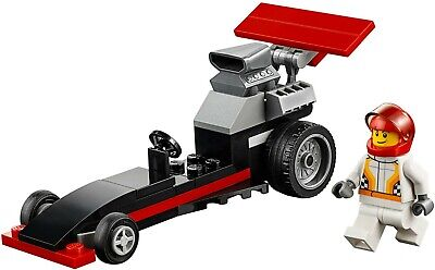 LEGO City 30358 Dragster 100% Complete with Printed Manual