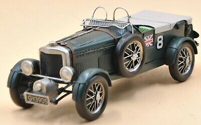 Tinplate Blower Bentley Model 1929 at the British International Motor Show Gift