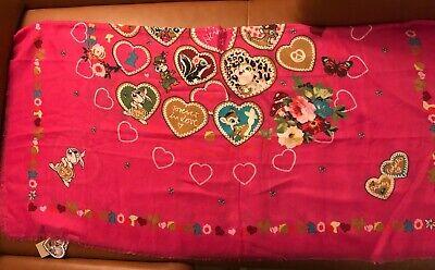 Codello Schal Happy Heimat Disney Rosa Pink NEU