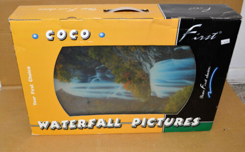 Vintage Moving Animated •COCO• Waterfall Pictures Your First Choice Autumn 18X12