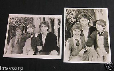 MATTHEW, ANDREW & JOEY LAWRENCE—TWO 1990s PUBLICITY PHOTOS