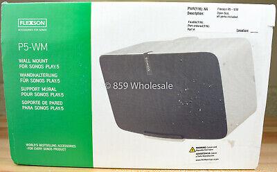 Open Box Flexson P5-WM Horizontal Wall Mount Sonos Play:5 FLXP5WM1014 - White A5