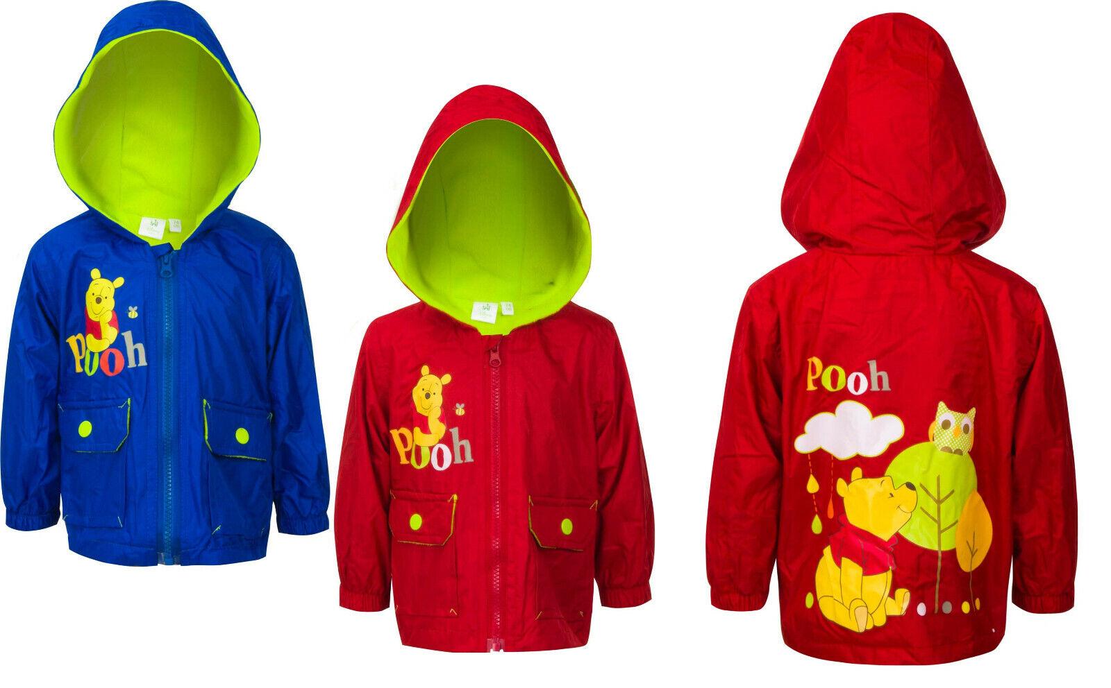 disney Winnie Pooh Baby Jacke rot oder blau Gr. 68 74 80 86 Windjacke Übergang