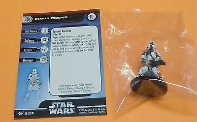 Star Wars Miniatures Champions of Force Utapau Trooper #38/60 NEW NIB SWM Minis
