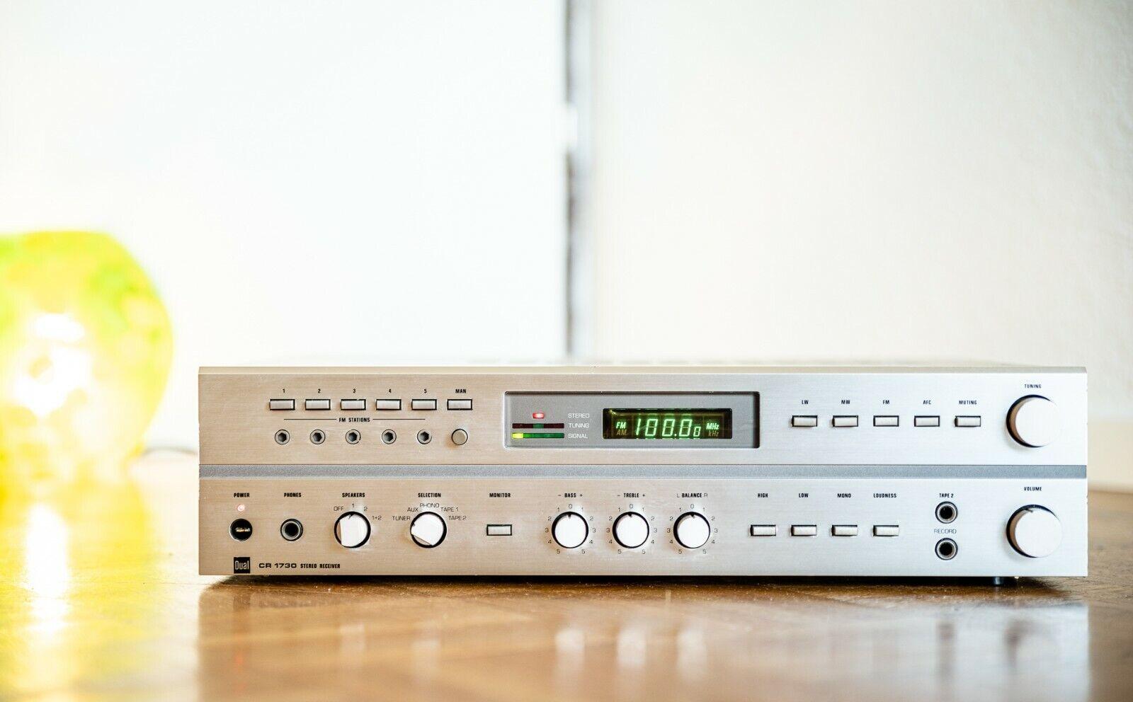 Dual CR 1730 HiFi Receiver Klassiker