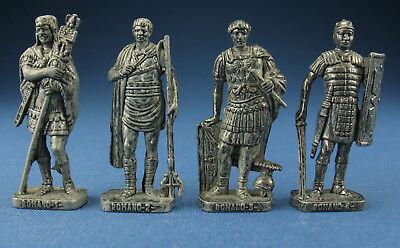 4x Metallfiguren - Römer um 100-300 n Chr. - Eisen RP 1482 - Komplettsatz - Ü-Ei