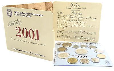 Italien 3388 Lire 2001 Stgl. KMS Giuseppe Verdi im Folder