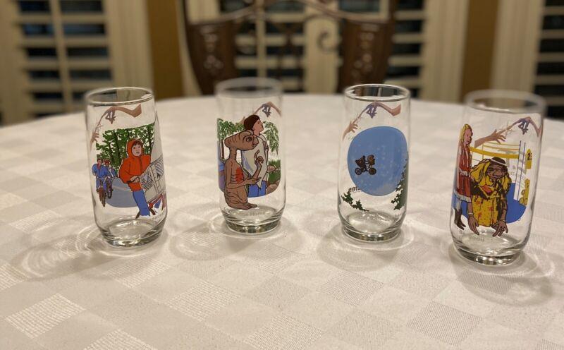 vintage et glasses Lot of 4