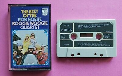 Cassette Rob Hoeke Boogie Woogie Quartet ‎– The Best Of Philips 1971 Piano