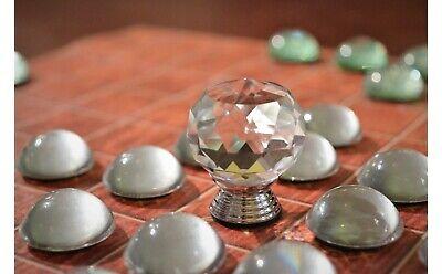 HNEFATAFL - GLASS CRYSTAL SET - THE 'VIKING CHESS' OF ANCIEN