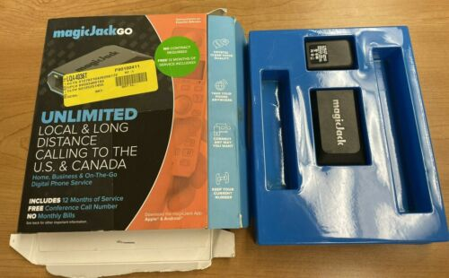magicJackGo Smart Home & Business On-The-Go Digital Phone Service Ships Fast