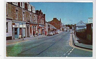 HIGH STREET, MONIFIETH: Angus postcard (C21053)