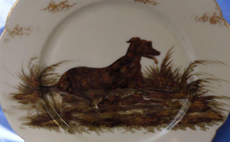 IRISH WOLFHOUND SCOTTISH DEERHOUND LURCHER LIMOGES J.P. FRANCE DOG