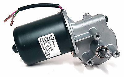 10mm 2-flat Shaft Reversible Electric Gear Motor 12v Dc 50 Rpm Gearmotor
