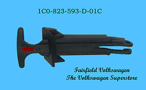 Genuine OEM VW Volkswagen Hood Latch Release Lever Pull Handle
